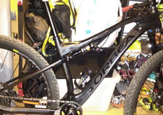 Bicicleta orbea oiz m30 doble suspensión