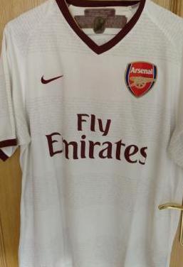 Camiseta futbol arsenal nike chapman talla l
