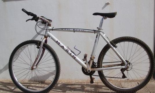 Mountain bike  1993 - marin nail trail