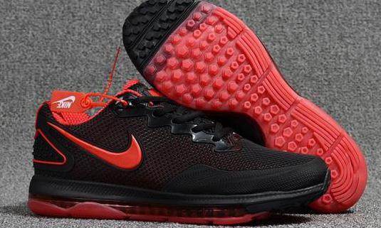 Nike air zoom (black red)