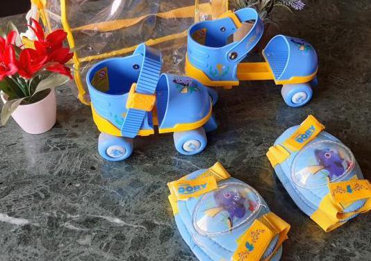 Set patines ajustables con protectores