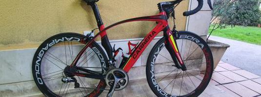 Bicicleta carrera carbono