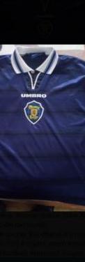 Camiseta selección escocia futbol
