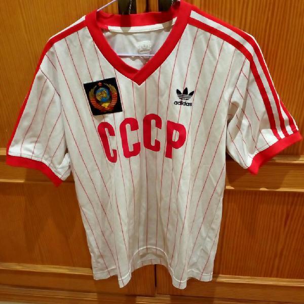 Camiseta fútbol seleccion union sovietica adidas