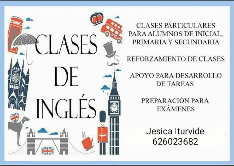 Clases particulares inglés (primaria hasta 4°eso)
