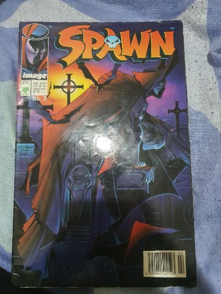 Comic número 2 de spawn