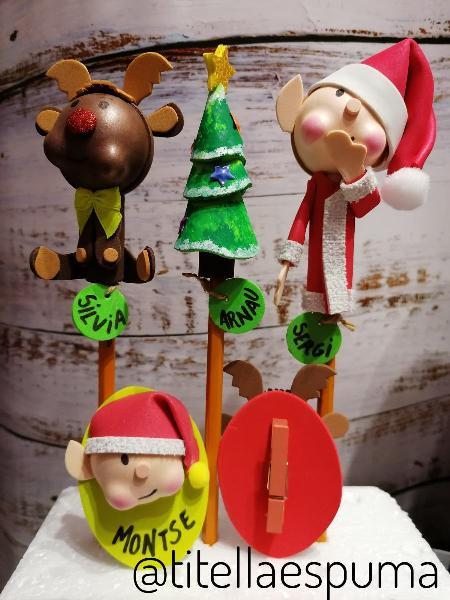 Detalles mesa navidad