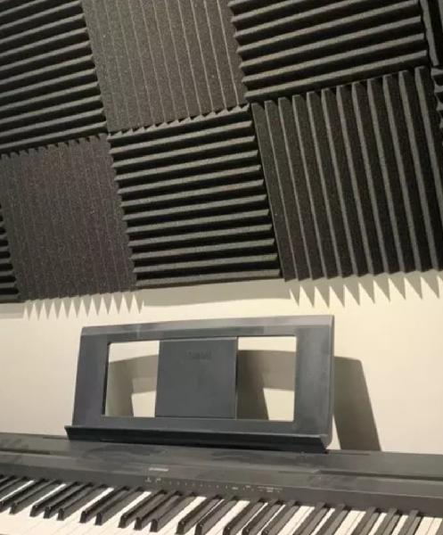 Espuma acústica 10 todas juntas