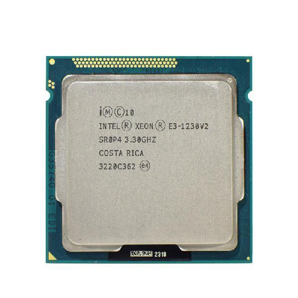 Intel xeon e3-1230 v2 lga 1155 4 nucleos 8 hilos