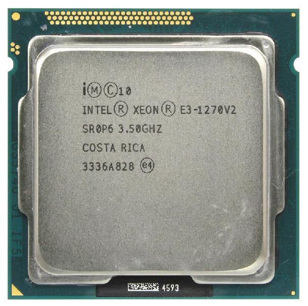 Intel xeon e3-1270 v2 lga 1155 4 nucleos 8 hilos