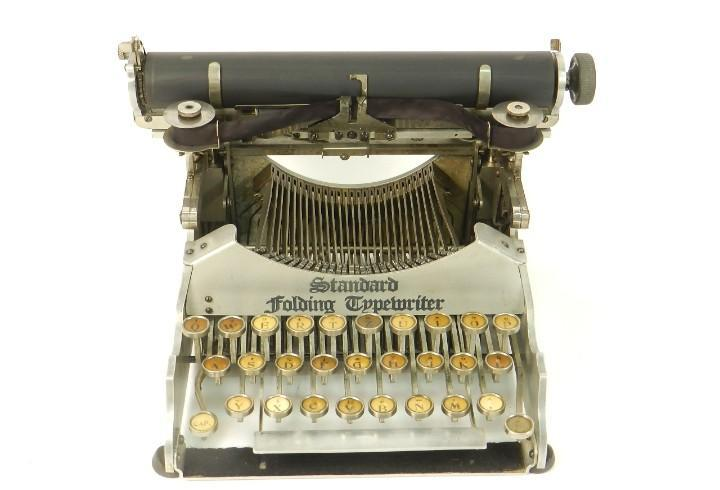 Maquina de escribir standard folding nº2 año 1905