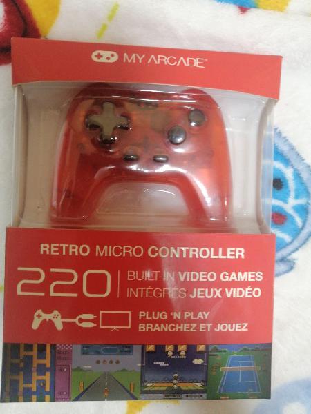 My arcade retro micro controller