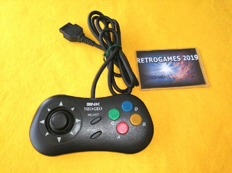 Neo geo cd - aes - mvs controller pad snk neogeo.