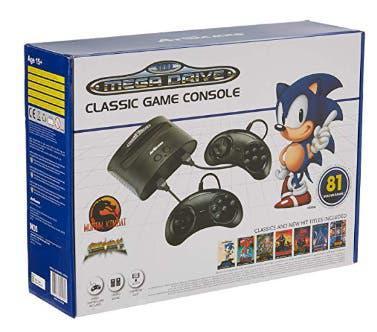 Precintada - consola sega mega drive classic game