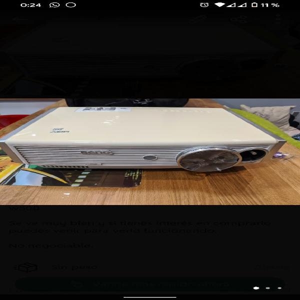 Pack barra de sonido sj4r + proyector
