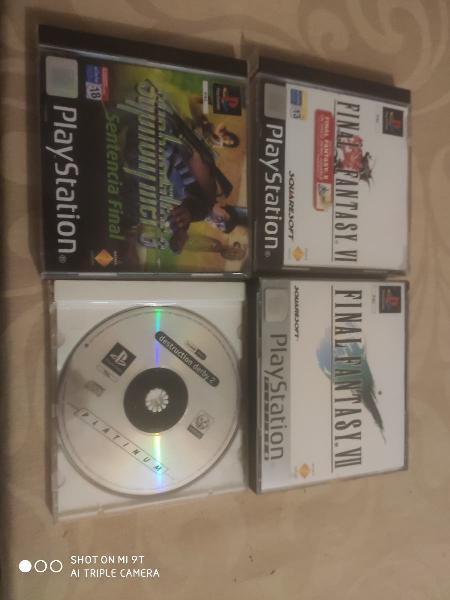 Pack de juegos de ps1