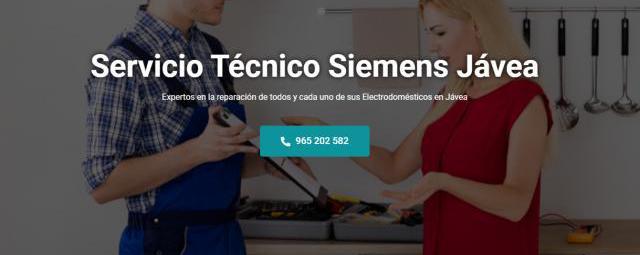 Servicio técnico siemens jávea 965217105