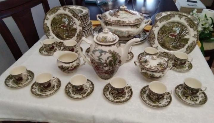 Vajilla porcelana inglesa, johnson bros, the friendly