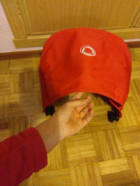 Capota bugaboo camaleón 3 roja