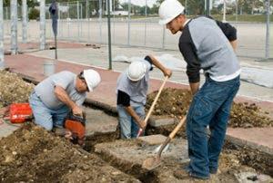 Peón en empresas de construcción