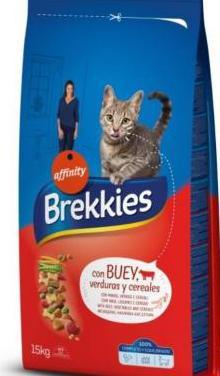Comida gato brekkies