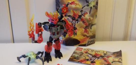 Lego® bionicle 70783, protector of fire.