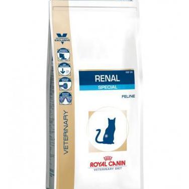 Pienso para gatos royal canin especial renal 4kg