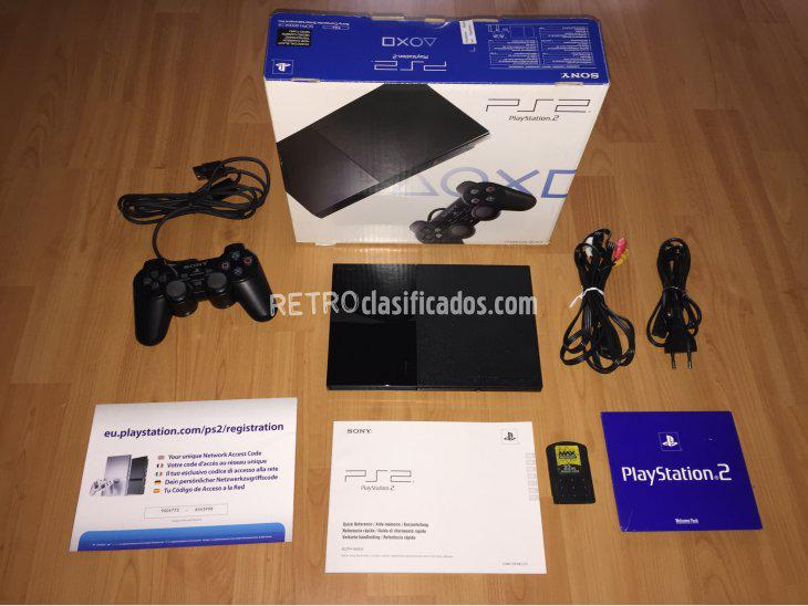 Se vende play station 2 console system boxed actualizado