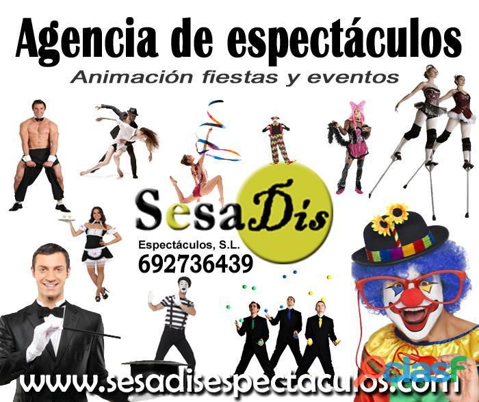 Agencia de espectáculos y artistas, sesadis