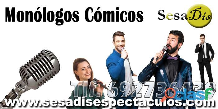 Monólogos cómicos en Madrid