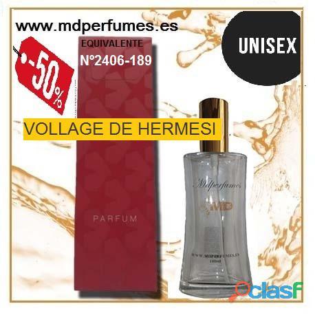 Oferta Perfume Unisex VOLLAGE DE HERMESI nº 2406 189 Alta Gama 100ml 10€ 5