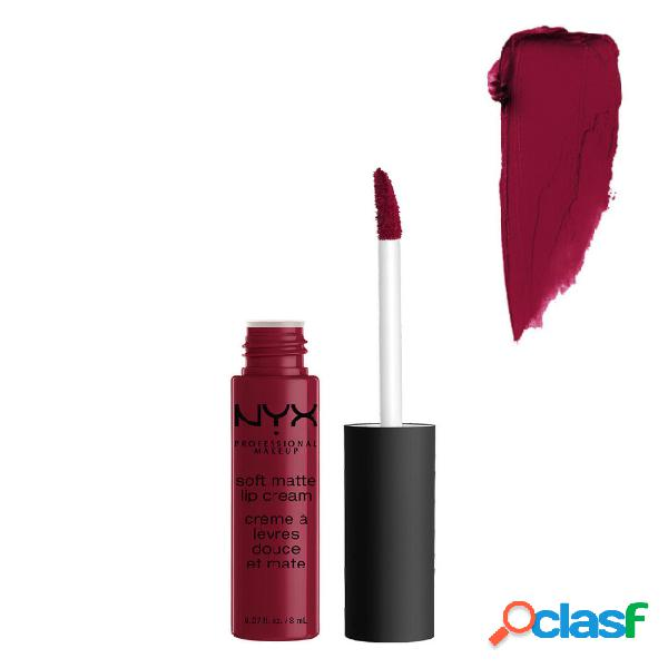 Nyx soft matte lip cream monte carlo 8ml