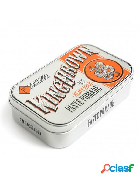 """King brown """"heavy hold paste"""" pomade 71g"""