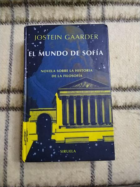 1995. el mundo de sofía. jostein gardner.