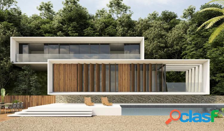Proyecto - maravillosa villa de estilo moderno con las vistas al mar