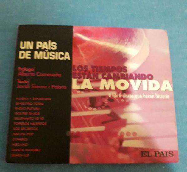 7 libro - cds de la colección 'un país de música'