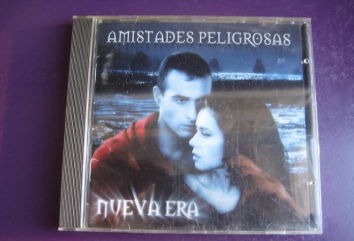 Amistades peligrosas cd emi 1997 - nueva era - ligeras
