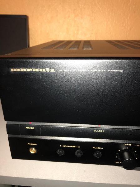 Amplificador marantz pm-80 mkii