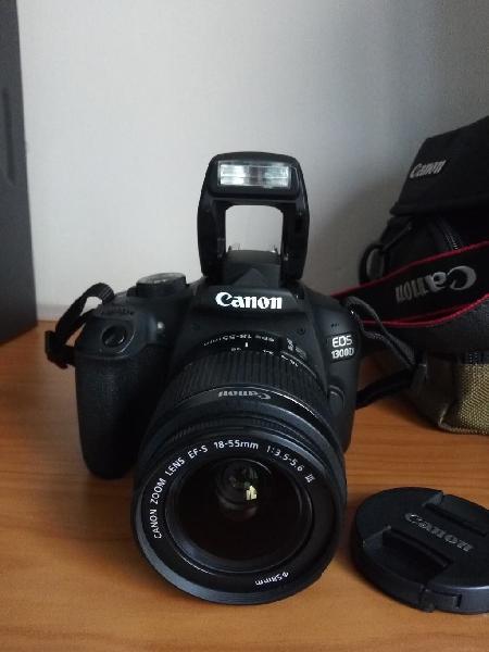 Canon 1300d camara digital reflex dslr de fotos