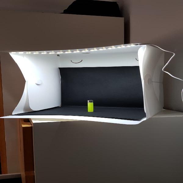 Caja de luz 40x40x40cm foto
