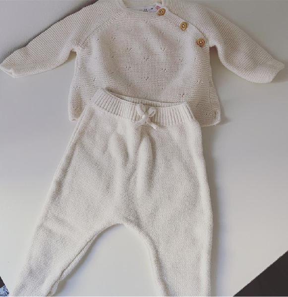 Conjunto punto bebé