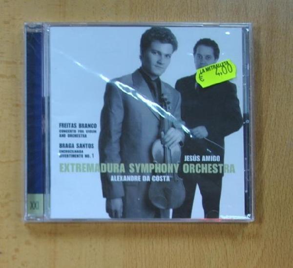 Extremadura symphony orchestra - freitas branco - cd