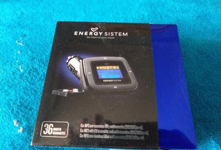Energy system reproductor car mp3