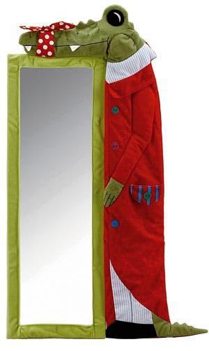 Espejo infantil blandito cocodrilo ikea