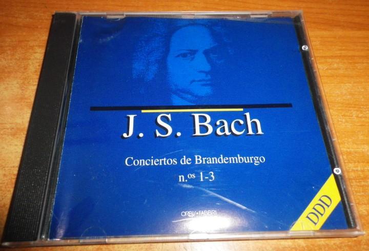 J. s. bach conciertos de brandemburgo nº 1-3 cd album del