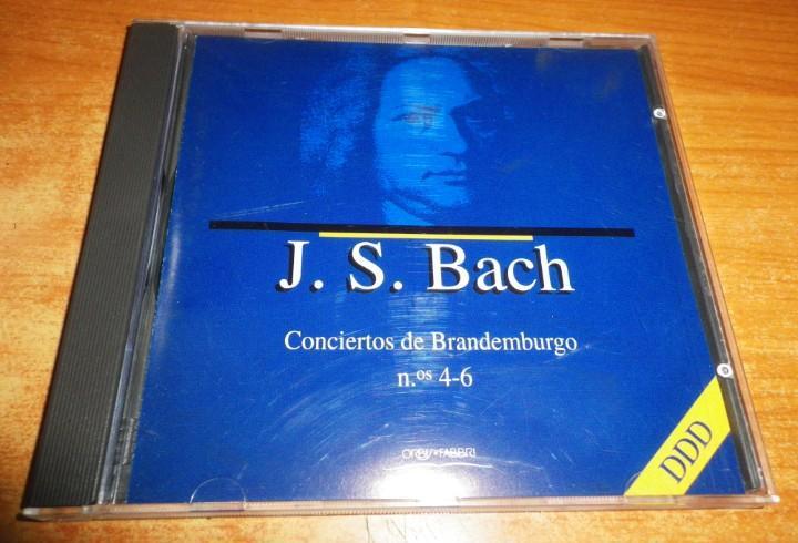 J. s. bach conciertos de brandemburgo nº 4-6 cd album del