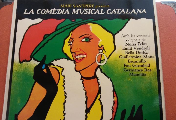 La comedia musical catalana. mari santpere. caixa d'estalvis