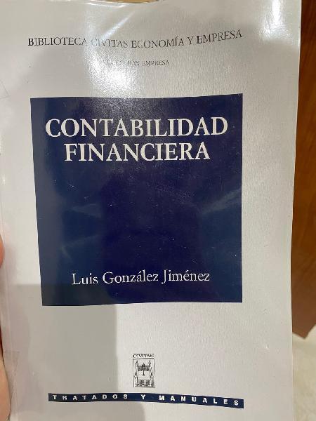 Libro contabilidad financiera. luis gonzález