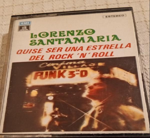 Lorenzo santamaría -quise ser una estrella del rock 'n'