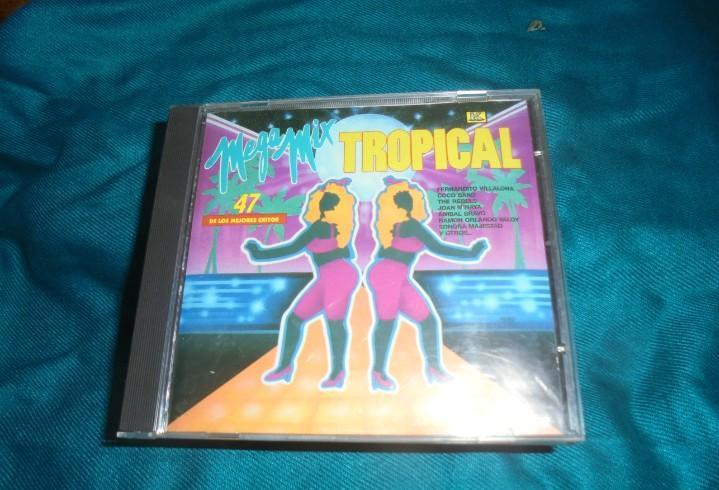 Mega mix tropical. 47 de los mejores exitos. cd. impecable
